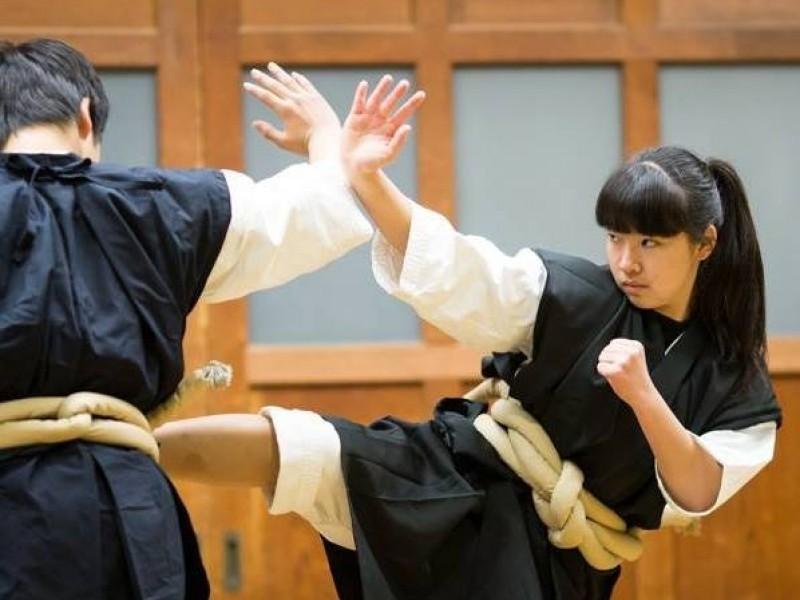 少林寺拳法一宮中部道院 拳友会 永尾初姫